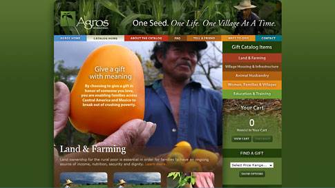 Agros OneSeed Online Gift Catalog